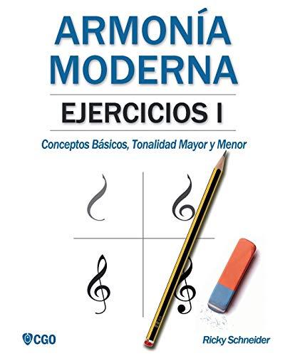 Armonía moderna, EJERCICIOS I: Conceptos Básicos, Tonalidad Mayor y Tonalidad Menor: 2