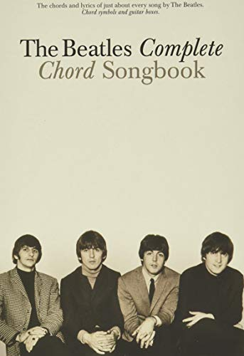 The beatles complete chord songbook guitare