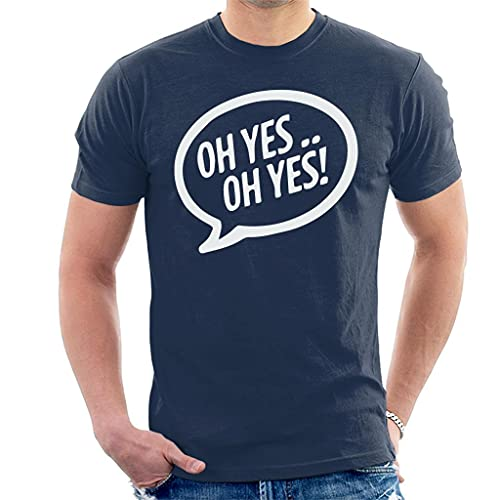 Carl Cox Oh Yes Oh Yes White Text Men's T-Shirt
