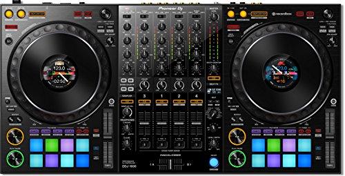 Mesa de mezclas para DJ Pioneer Pro DJ, color negro (DDJ-1000)