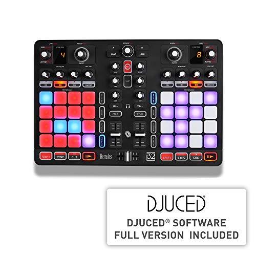 DJ Hercules Hercules Universal DJ - Mesa mezclas DJ [mezclas desde todos tus dispositivos, Android, iOS, PC y Mac]