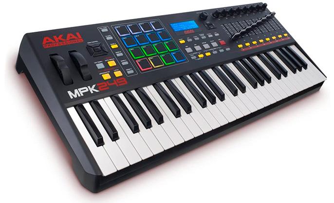 teclado midi usb