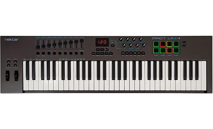 teclado midi 61 teclas