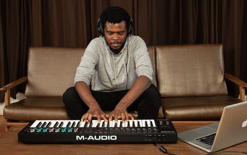 teclado oxygen amazon