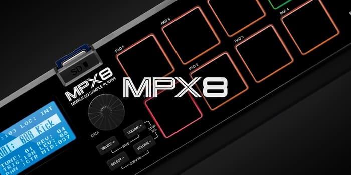 sampler MPX 8