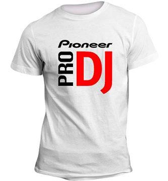 camisetas pioneer dj