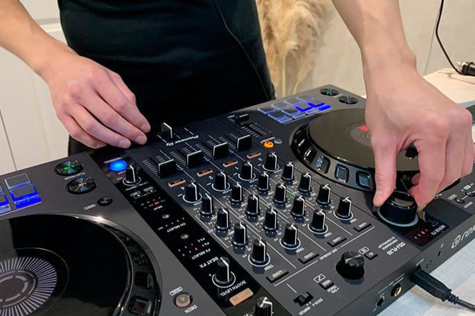 controlador dj mas volumen por favor