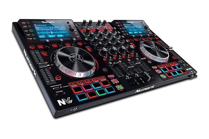 Controlador de DJ con pantalla