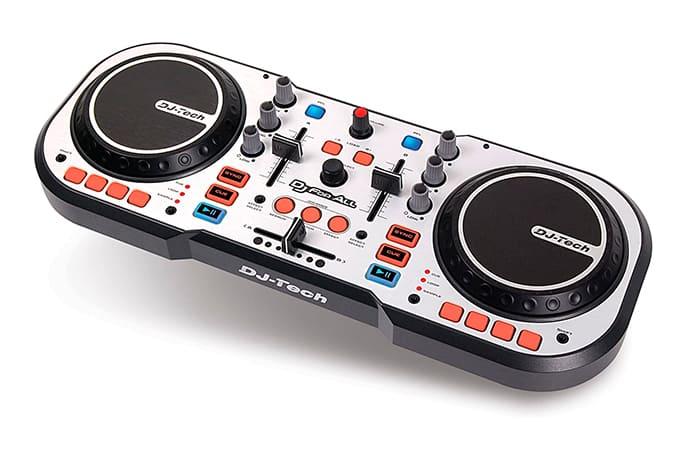Controlador de DJ para scratching