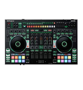 Controlador de DJ roland de 4 canales