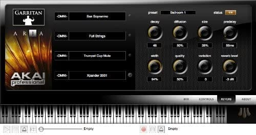 software aria player
