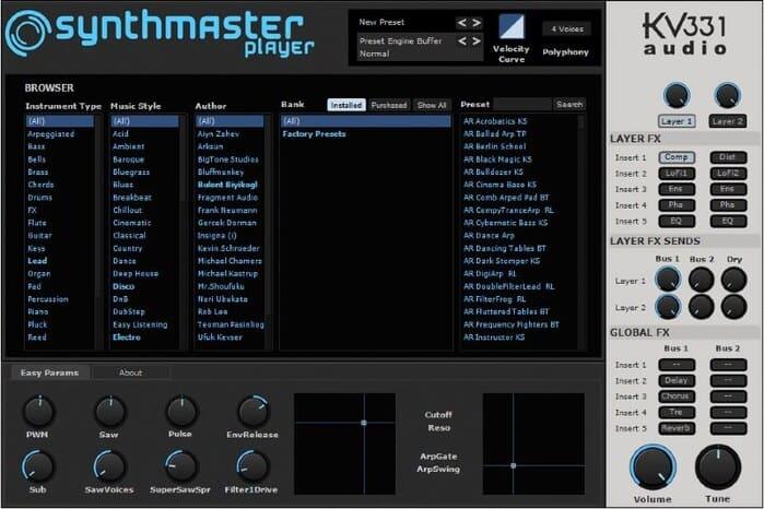 sintetizador gratis vst synthmaster player